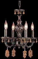 Classic Lighting Gabrielle Mini-Chandelier Light (English Bronze)
