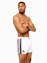 TopmanTopman KAPPA White Swim Baten Shorts
