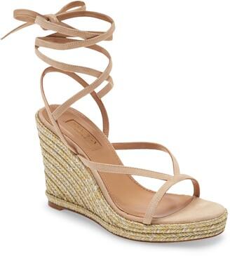 Aquazzura Ramatuelle Wedge Sandal
