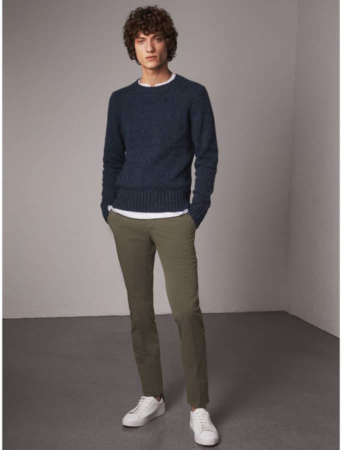 Burberry Slim Fit Stretch Cotton Chinos