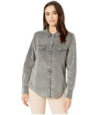 True Grit Dylan by Snowcap Cord Jackson Long Sleeve Shirt with Snap Buttons
