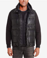 Sean John Men's Puffer Vest With Inset, Created for Macy's