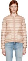 Moncler Pink Down Lans Jacket