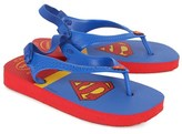 Havaianas Superman Baby Sandals