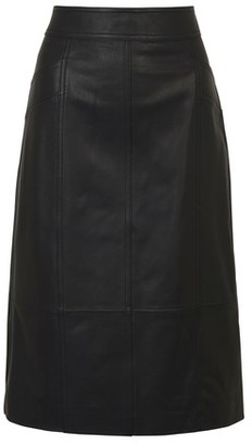 Proenza Schouler White Label Leather skirt