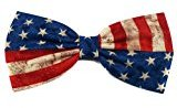 Patriotic Hair Bow Collection (Vintage Flag, Barrette)