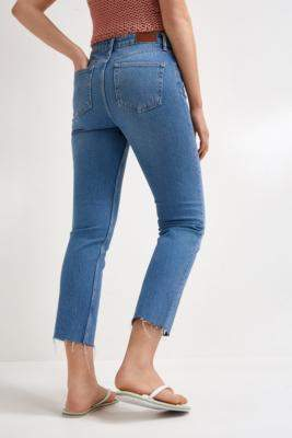 BDG Dillon Blue Jeans - blue 24W 32L at Urban Outfitters