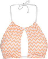 H&M Bikini Top - Apricot/zigzag - Ladies