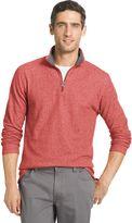 Izod Men's Heathered Quarter-Zip Fleece
