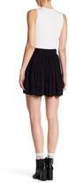IRO Ginny Lattice Inset Miniskirt