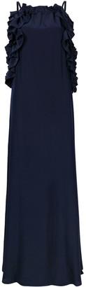 P.A.R.O.S.H. Ruffle-Trim Sleeveless Dress