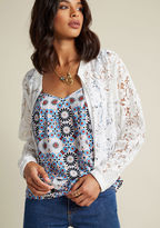 ModCloth Sheerly You Agree Jacket in S