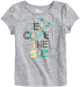 Epic Threads Graphic-Print T-Shirt, Little Girls, Created for Macy's