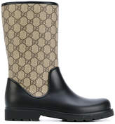 Gucci Kids branded wellies