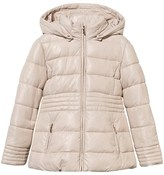Mayoral Beige Puffer Coat with Detachable Hood