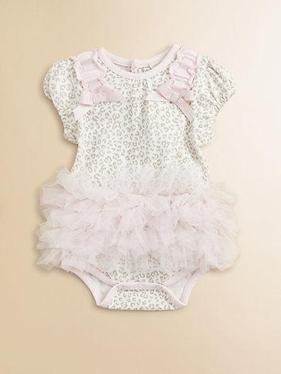 Miniclasix Infant's Embellished Print Bodysuit