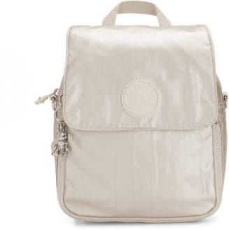Kipling Annic Small Convertible Metallic Backpack