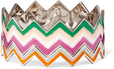 Missoni Stacked color-block enamel bracelet