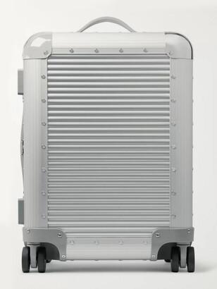 FPM Milano Bank S Spinner 53cm Aluminium Carry-On Suitcase - Men - Silver