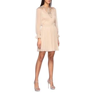 Alberta Ferretti Dress Silk Dress With Embroidery