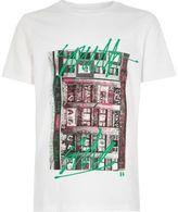 River Island Boys white 'South Side' city print T-shirt