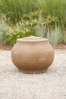 Anthropologie Fiber Core Lidded Jar Planter