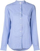 Aspesi collarless shirt - women - Cotton - 40
