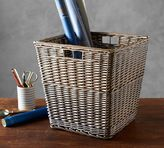 Pottery Barn Willow Square Basket