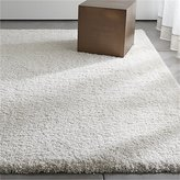 Crate & Barrel Memphis White Rug