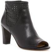 Karen Millen Peep Toe Perforated Boot