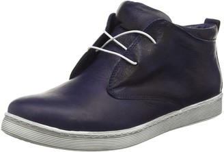 Andrea Conti Womens 0341522 Low-Top Sneakers Blue Size: 3.5