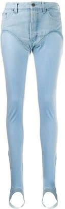 Y/Project Elastic Feet Detail Jeans
