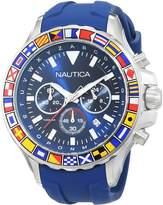 Nautica Men's NAD19562G NST 1000 FLAGS Analog Display Quartz Watch