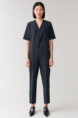 Cos Wrap-Front Jumpsuit