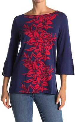 Tommy Bahama Flower of Pisa 3/4 Sleeve Tunic