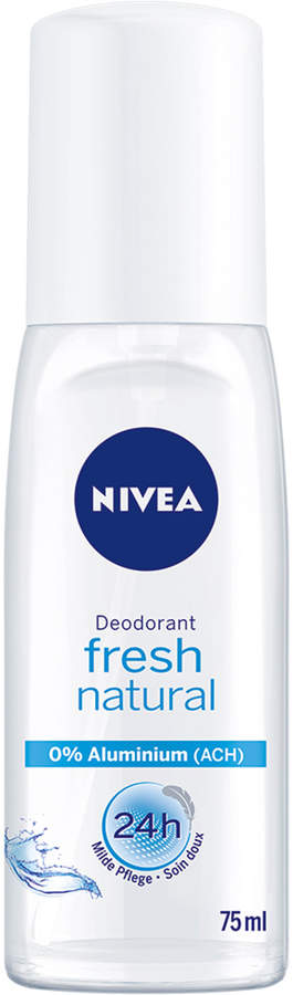 Nivea Fresh Natural Deo Spray (Glass Bottle) by 75ml)