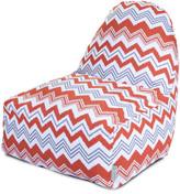 Majestic Home Kick-It Chair Orange Zazzle