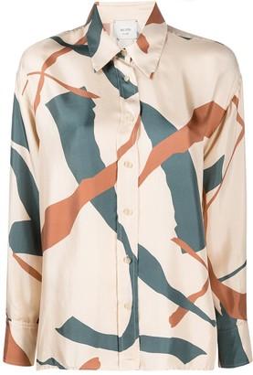 Alysi Abstract-Print Shirt