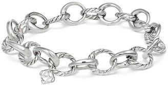 David Yurman Cable Collectives Oval Link Charm Bracelet