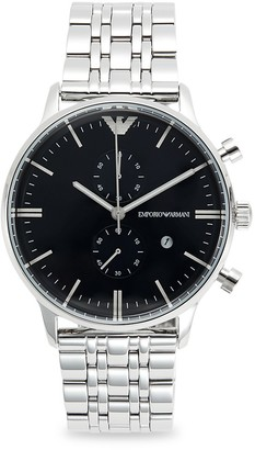 Emporio Armani Stainless Steel Bracelet Watch