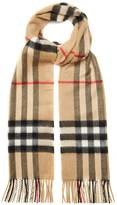 Burberry Classic House-check cashmere scarf