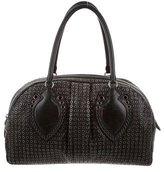 Alaia Grommet-Embellished Handle Bag