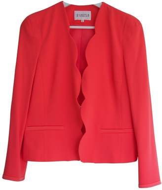 Claudie Pierlot Pink Synthetic Jackets