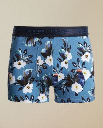 Ted Baker Modal Floral Trunks