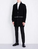 Alexander McQueen Zip-detail wool-blend cardigan