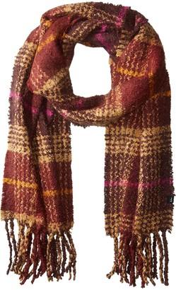 Echo Women's Mulberry Plaid Blanket Wrap One Size