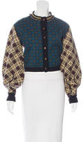 Jean Paul Gaultier Patterned Embellished Cardigan