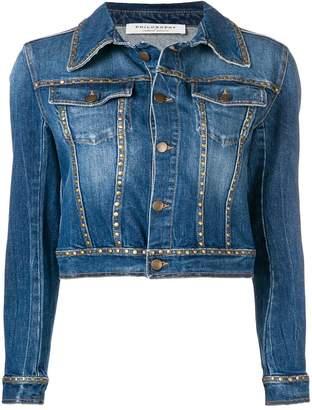 Philosophy di Lorenzo Serafini studded denim jacket