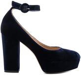 Gianvito Rossi Ankle Strap Platform Heels