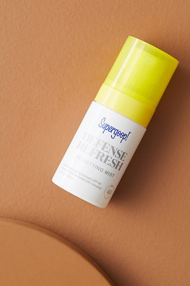 Supergoop! SPF 40 Mini Defense Refresh (Re)setting Mist By in White Size ALL